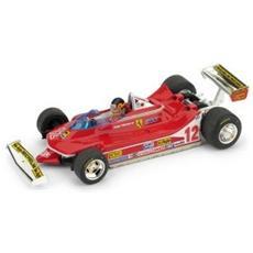 Bm0578ch Ferrari 312 T4 G. villeneuve 1979 N. 12 Winner Usa Ovest Gp W / pilote 1:43 Modellino