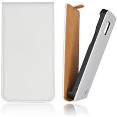 Flip Case Cover Forcell Slim Per Samsung Galaxy S5 G900 Bianco