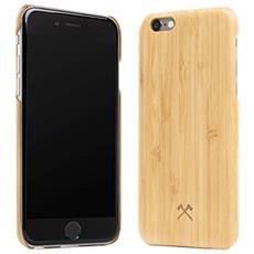 Cover in Legno per iPhone 6 / 6S Colore Bambù