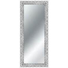Specchio Da Parete Mirror Vienna 79x99 Cm Silver