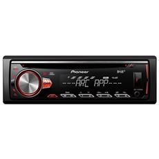 Autoradio 4 x 50 W DEH-S400DAB Ingresso AUX / USB / DAB Colore Nero