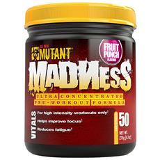Madness 50 Servings - - Pre-allenamento Con Caffeina - Ananas