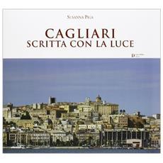 Cagliari scritta con la luce