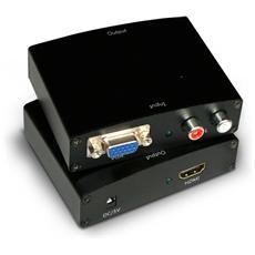 Adattatore VGA / HDMI Colore Nero