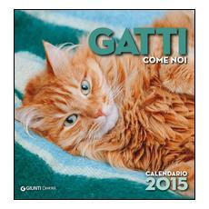 Gatti come noi. Calendario 2015