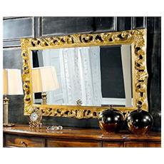 Specchiera In Legno Intagliato Da L145 H85 P6