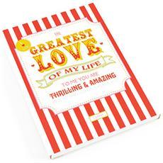 Sacchettino Profumato Alla Ciliegia Greatest Love (10 X 1 X 13cm) (bianco / rosso)