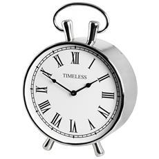 Orologio Da Tavolo Stile Classico (taglia Unica) (argento)