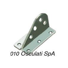 Attacco inox strallo 60x34x38 mm
