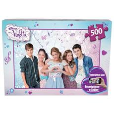 Puzzle Disney Violetta 500 pz 7284510079