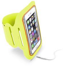 """Fascia da braccio in MicroFibra per smartphone da 5.2"""" - Giallo"""