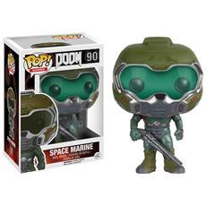 Doom Pop! Games Vinyl Figure Space Marine - 9 Cm