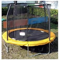 Jpcl14 trampolino tappeto elastico rete salti jumppod classic 430