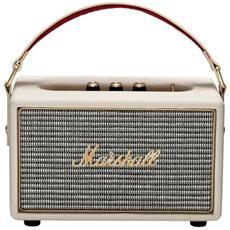 Speaker Audio Portatile Kilburn Bluetooth Ingresso AUX 3.5mm colore Crema