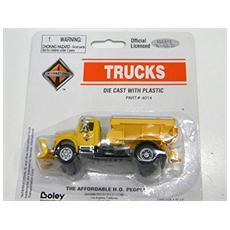 4014-88 Camion Spazzaneve Con Spandisale Modellino