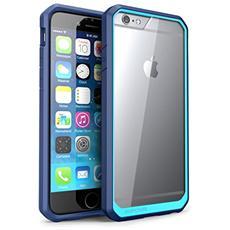 Cover Iphone 6, Supcase Apple Cover Iphone 6 4.7 Pollici [ serie Unicorn Beetle] Custodia Bumper Premium Super Protezione Per Iphone 6 (trasparente / blue / blue)