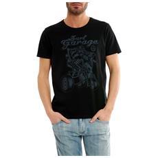 T-shirt Uomo Stampa Surf Garage Nero Xxl