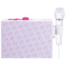Diffusore da Pavimento Kids Rock con Microfono Potenza 20W Radio FM Display LCD
