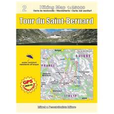 Tour du Saint-Bernard. Carta escursionistica