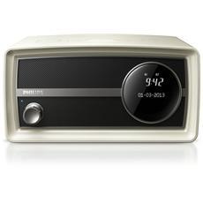 Radio Mini Original ORT2300B Sintonizzatore DAB+ Bluetooth ingresso Audio colore Bianco