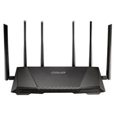 ASUS - Router Wireless RT-AC3200 Tri-Band AC 3200 4 Porte...