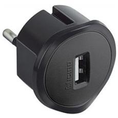 Kit - adattatore spina standard tedesca presa USB 1.5A, colore grigio
