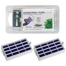 2 Filtri Antibatterico Microban Filtro Aria Per Frigorigero + Timestrip - 481248048172