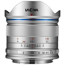 Objectif 7,5mm F2 Mft Standard Argentooo