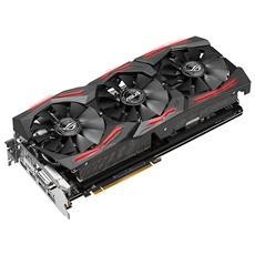 Scheda Video ROG Strix RX VEGA 56 OC Edition 8 GB HBM2 / PCI Express 3.0 / 1 x DVI-D / 2 x HDMI 2.0 / 2 x Display Port 1.4 / HDCP