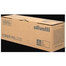 B0910 Toner Originale Nero per Olivetti PG L2130 / L2135 Capacità 25000 Pagine RICONDIZIONATO