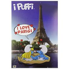 I love Parigi. . . con i puffi. Travel Book