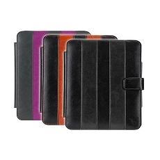 Book cover black / orange + stylus pen ipad air