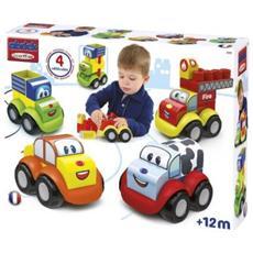 Maxi Abrick Set 4 veicoli (9/2014) 7600007771