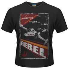 Star Wars - Rebel (T-Shirt Unisex Tg. S)