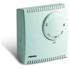 Termostato Da Parete Ad Espansione Di Gas Perry 1tgteg130 Termostato Serie Teg Senza Spia Bianco