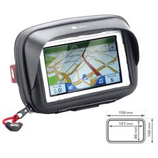 Porta Smartphone / navigatore Da Manubrio Nero