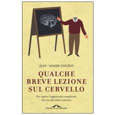 Qualche breve lezione sul cervello