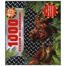 1.000 Stickers Dei Dinosauri