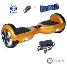 6.5 Pollici Bluetooth Hoverboard Smart Balance Monopattino Elettrico Pedana Scooter Due Ruote Oro
