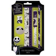 Nightmare Before Christmas (the) : Spiral Hill Stationery Set (set Cancelleria)