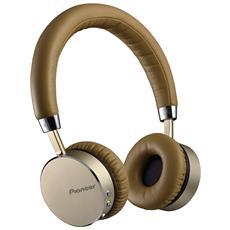 Cuffia Bluetooth con Tecnologia NFC e Microfono Integrato Champagne