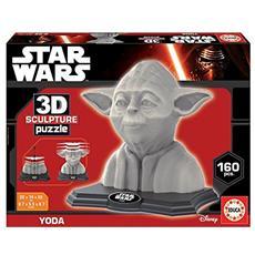 Puzzle 3D Sculpture Yoda 160 Pezzi