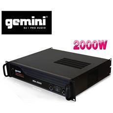 Sistema Di Amplificazione Del Suono Pa 2000w Max. - Gemini Xga2000