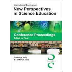Conference proceedings. International Conference new perspectives in science education