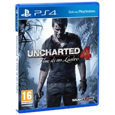 SONY - PS4 - Uncharted 4: Fine di un Ladro