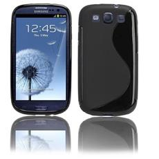 Cover S-Line Nero per Samsung Galaxy S3 i9300