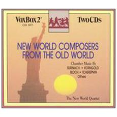 New World Composers (2 Cd)