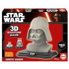 Puzzle 3D Sculpture Darth Vader 160 Pezzi
