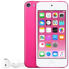"iPod Touch 128GB Display Retina 4"" IPS Multi-Touch Fotocamera 8Mpx con AirPlay iCloud Bluetooth / Wi-Fi Colore Rosa"