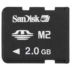 PSP -SanDisk Memory Stick Micro M2 2 Gb per PSP Go